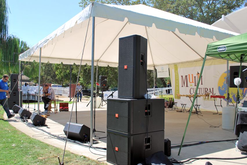 Dance Stage - JBL Point